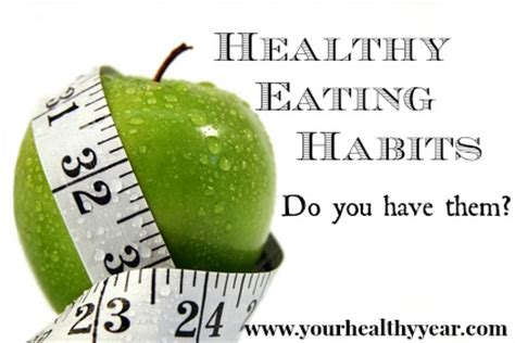 Articles on healthy eating habits